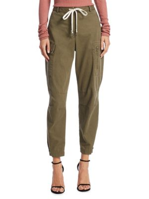 Cotton Cargo Pants by T By Alexander Wang