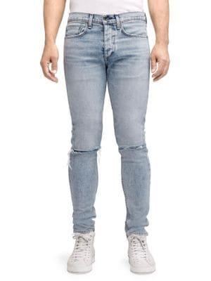 Men'S Standard Issue Fit 1 Slim-Skinny Jeans, Jameson, Light Blue
