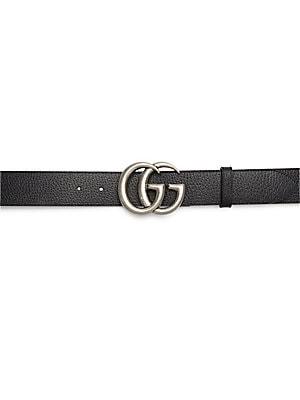 ff5c154f6 Gucci - GG Buckle Leather Belt