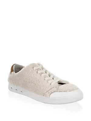 Rag & Bone Woman Velvet Sneakers Navy Size 41 Rag & Bone UhzwVcW4
