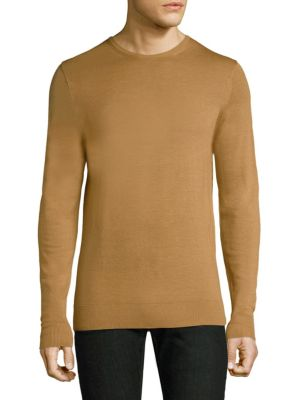 Crewneck Wool Sweater by Sunspel