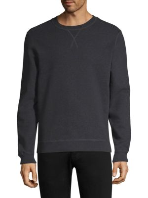 Crewneck Cotton Sweatshirt by Sunspel