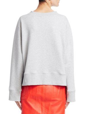 MOSCHINO Cottons Cotton Pin-Up Sweatshirt