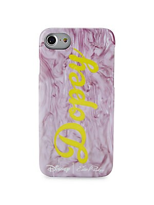 Image of Collaboration case celebrates Snow White's Dopey Fits iPhone 6 and 7 3W X 5.5H X 0.3D Polyurethane epoxy adhesive Imported. Handbags - Evening Handbags > Saks Fifth Avenue. Edie Parker.