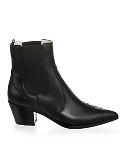 94da81c94cae Western Leather Chelsea Boots BLACK. QUICK VIEW. Product image