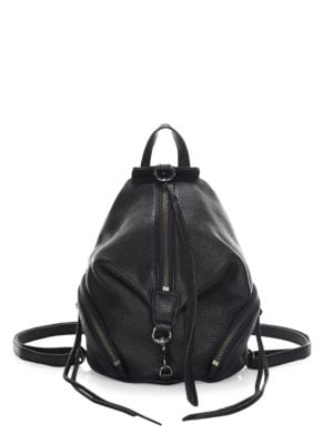 Julian Mini Leather Backpack by Rebecca Minkoff