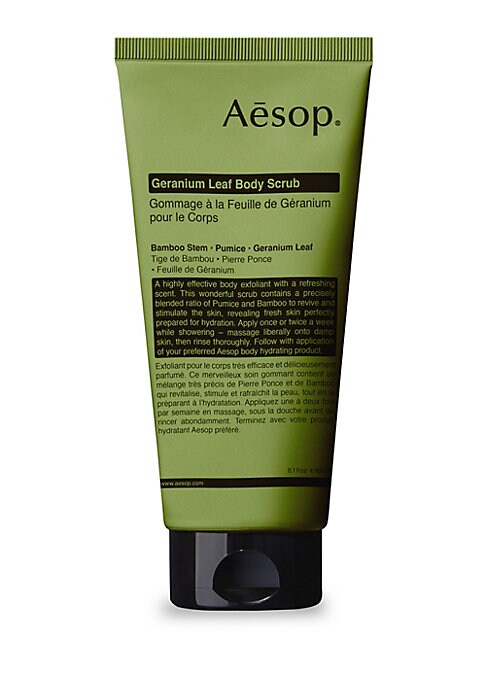 Image of An invigorating blend of Pumice, Bamboo Stem, and purifying botanical oils that sloughs away tired cells and leaves skin cleansed and smooth, perfectly prepared for hydration. 6.1 oz. Made in Australia. Skin feels: Fresh, smooth, soft. Aroma: Green, citru