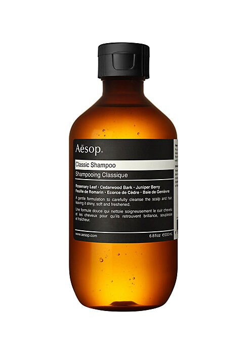 Image of A mild formulation that blends oils of Cedarwood Bark and Juniper Berry to cleanse thoroughly. Hydrolyzed Vegetable Protein hydrates and softens hair. Suited to normal hair and those who wash their hair frequently. Three to five times weekly, prior to sha
