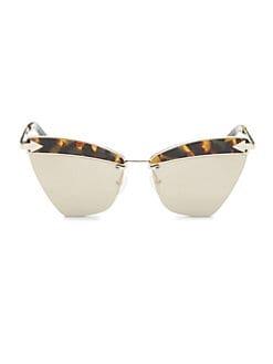 f3cbb9b519cab Karen Walker. Sadie 59MM Cat Eye Sunglasses