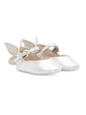 Baby Girls Embroidery Chiara Mary Jane Shoes