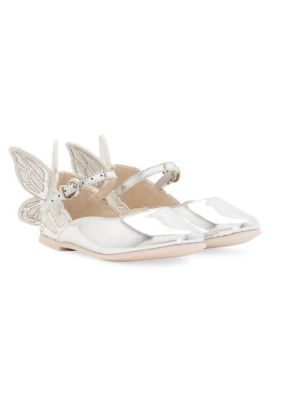 Babys Embroidery Chiara Butterfly Mary Jane Shoes