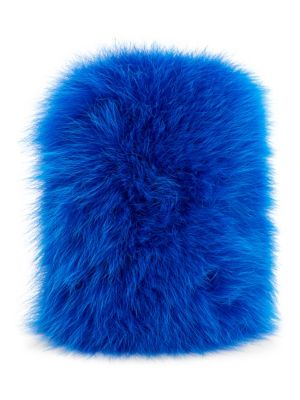 WILD AND WOOLLY Fox Fur Iphone 7 Case in Electric Blue