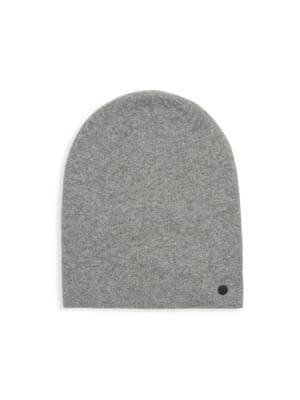 BICKLEY + MITCHELL Ribbed Beanie in Mid Grey