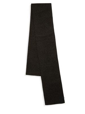 BICKLEY + MITCHELL Wool Twist Scarf in Black Twist