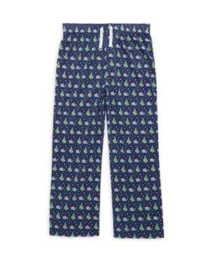 Christmas Toddlers Little Boys  Boys Santa Whale Pajama Pants