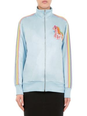 My Little Pony Capsule Embroidered Jacket by Moschino