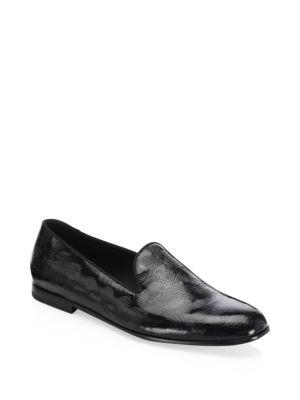 Giorgio Armani  Textured Leather Dress Shoes