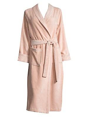 Saks Fifth Avenue - COLLECTION Terry Velour Wrap Robe ebc6ea9cb