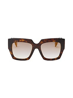 3e0d3978db0 Fendi. 52MM Square Sunglasses
