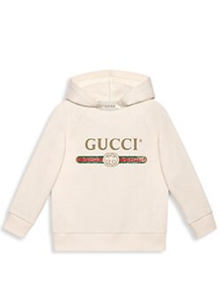 8bd890fac3d Gucci - Little Kid s   Kid s Cotton Hooded Sweater
