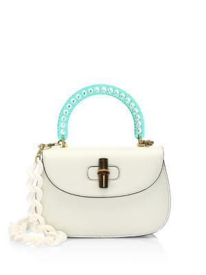 Medium Classic 2 Top Handle Shoulder Bag - White, Multi