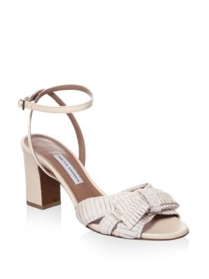 Grosgrain Ribbon Sandals by Tabitha Simmons