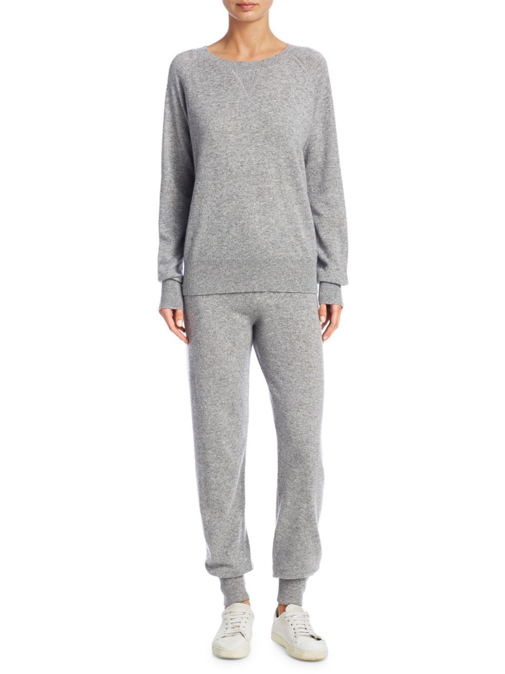 Theory Athletic Striped Cashmere Pants | SaksFifthAvenue