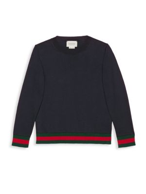 Little Boys  Boys Pull Ink Sweater