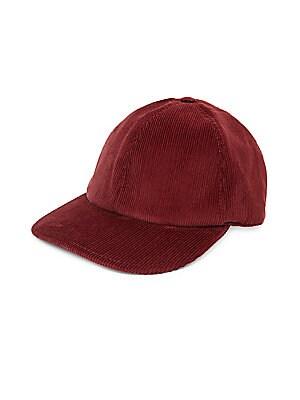 f9245e46cbf Brunello Cucinelli - Corduroy Flannel Baseball Hat