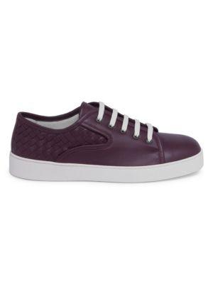 Bottega Veneta Leather Low Top Sneakers