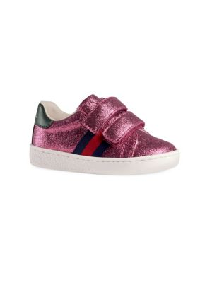 Baby Girl's & Toddler's Leather Sneakers by Gucci