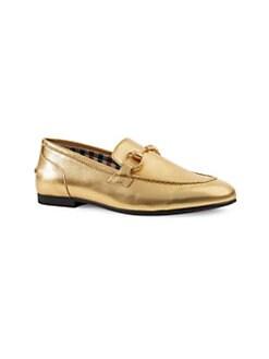 da995dfadaa Gucci. Girl s Leather Loafers