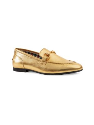 Girl's Leather Loafers by Gucci