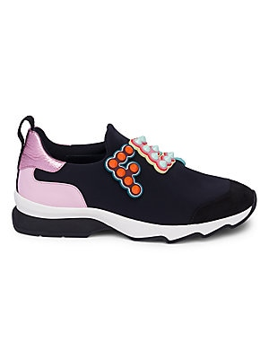 0774a83ce6a9 Fendi - Fun Fair Logo Sneakers