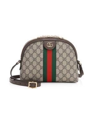 Gucci - Ophidia GG Supreme Small Shoulder Bag - Saks Com