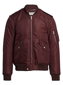 b03a28e499d Saint Laurent. Classic Bomber Jacket