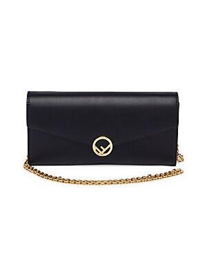 29958052c410 Fendi - Wallet on Chain Leather Cross Body Bag