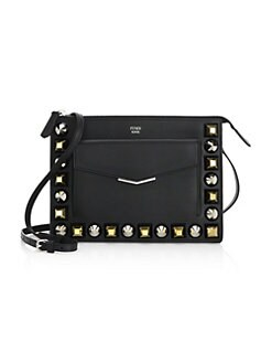 d1fa0f2af5c8 QUICK VIEW. Fendi. Studded Leather Crossbody Bag