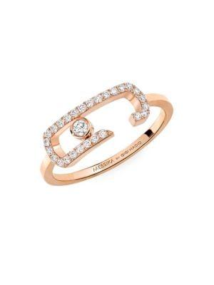 Messika Move Addiction Diamond Pavé Ring