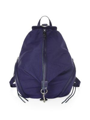 Julian Nylon Backpack - Blue in True Navy