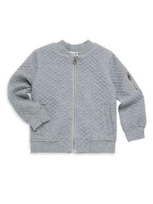 Baby Boys Quilted Zip Jacket