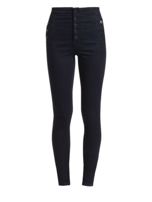 Natasha Sky High-Rise Skinny Jeans, Bluebird