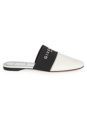 c098f9f16 Givenchy - Bedford Flat Leather Mules - saks.com