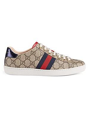 4c79307f8 Gucci - New Ace GG Supreme Sneakers - saks.com