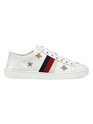 059e3db3187 Gucci - New Ace Sneakers With Bees And Stars - saks.com