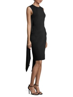 Wrap Sash Sheath Dress by Givenchy