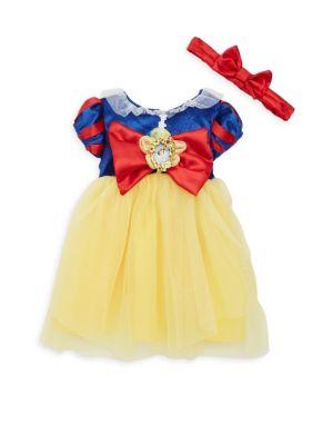 Babys Snow White Deluxe Dress