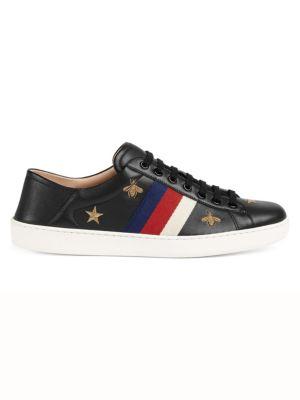 35e93876c41 Gucci - Rhyton Logo Leather Sneaker - saks.com