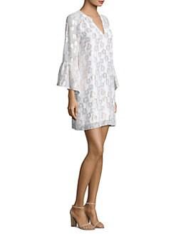 c0d52097249703 Lilly Pulitzer - Matilda Tunic Bell-Sleeve Dress