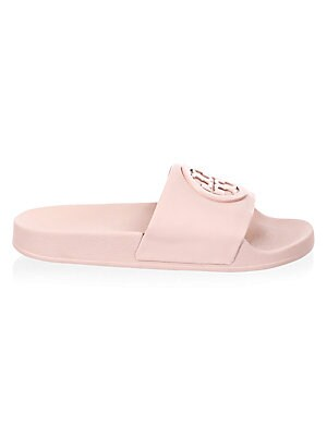 0f5bed4b6688c Tory Burch - Lina Leather Slides - saks.com
